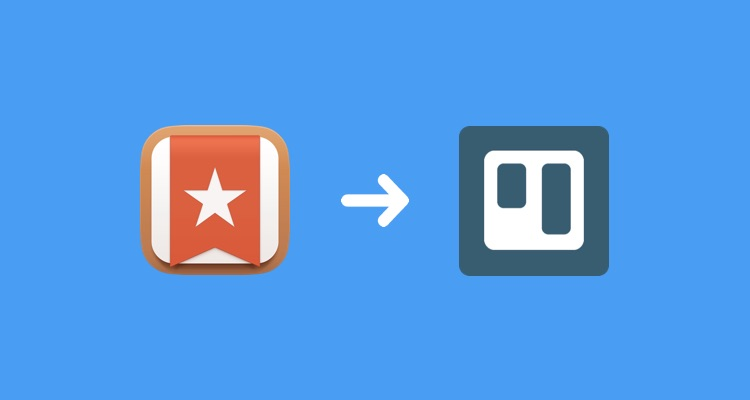 Wunderlist to Trello workflow