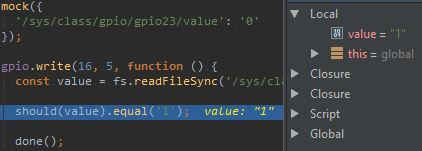 Breakpoint Inside WebStorm