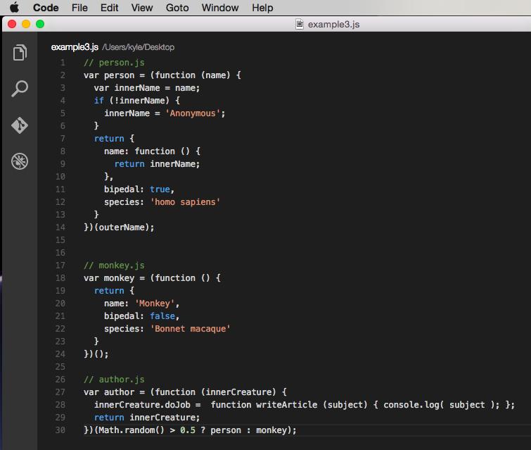 Example code 3