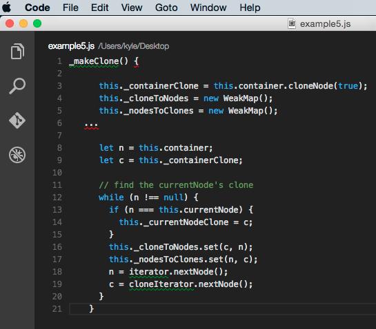 Example code - 5
