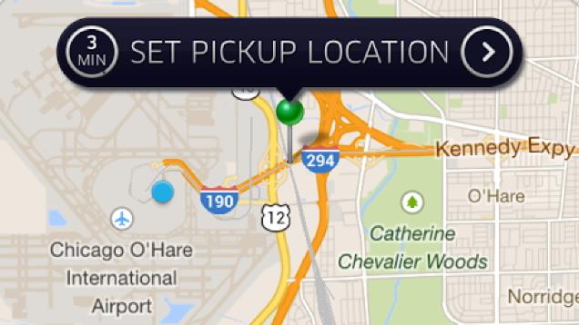 Set Pickup Location