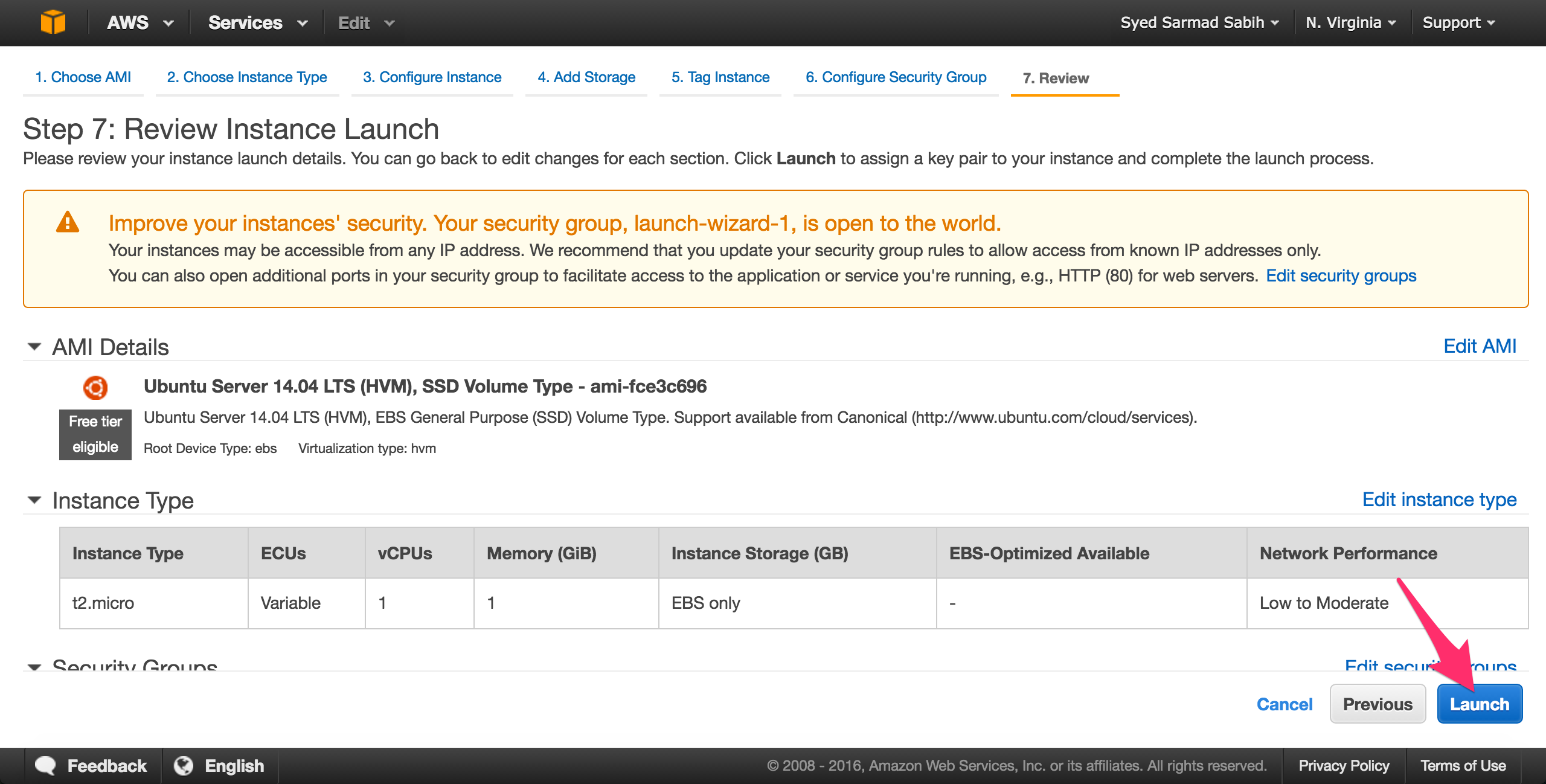 aws-ec2-review-instance-launch