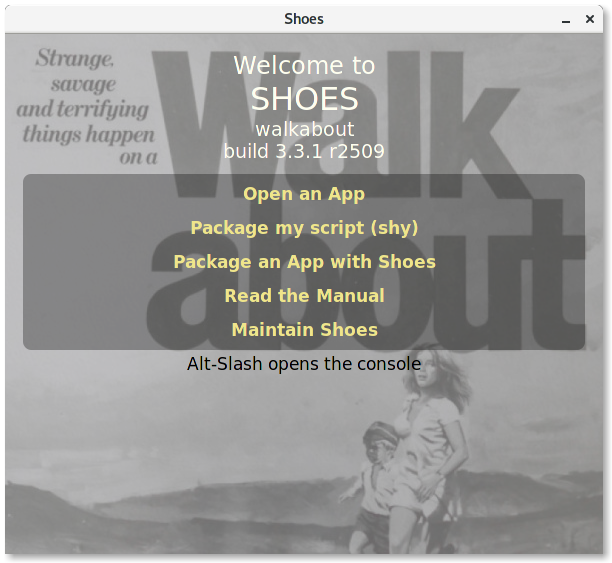 Create a Twitter GUI Client with Shoes — SitePoint