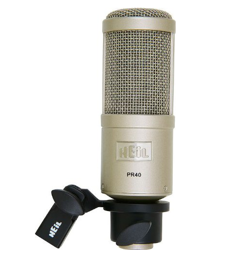 Heil Dynamic Studio recording microphone