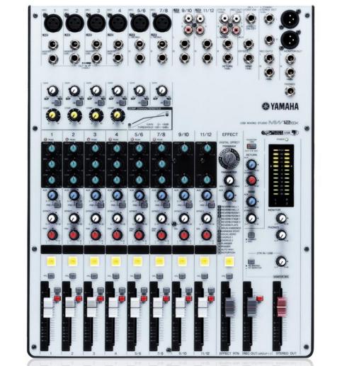 Yamaha's MW12CX USB Mixer