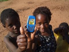 Sam Churchill - African cell phone