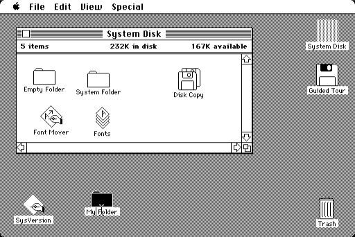 Macintosh Desktop (1984)