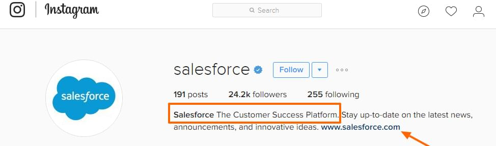 Salesforce on Instagram