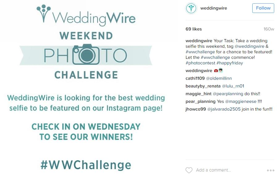 WeddingWire Contest