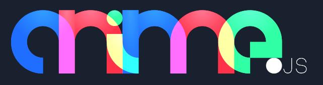 Anime.js JavaScript animation library logo