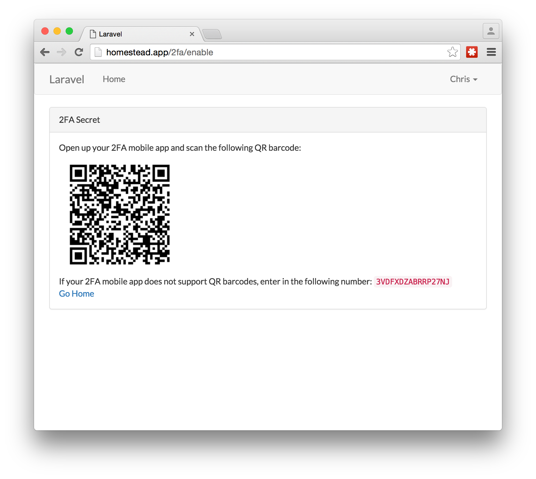 2FA in Laravel with Google Authenticator - Get Secure! — SitePoint