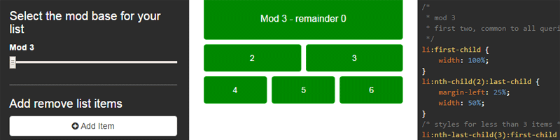 CSS Mod Queries and Range Selectors