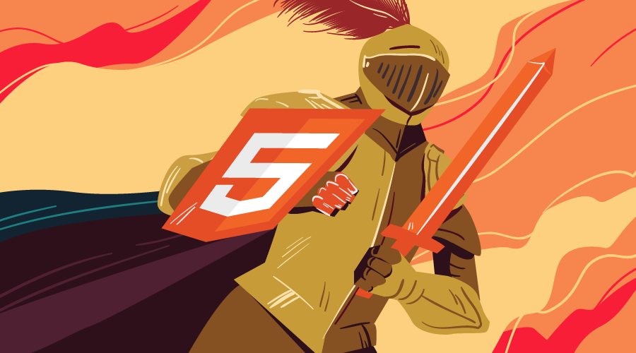 A HTML 5.1 knight in shining armor!