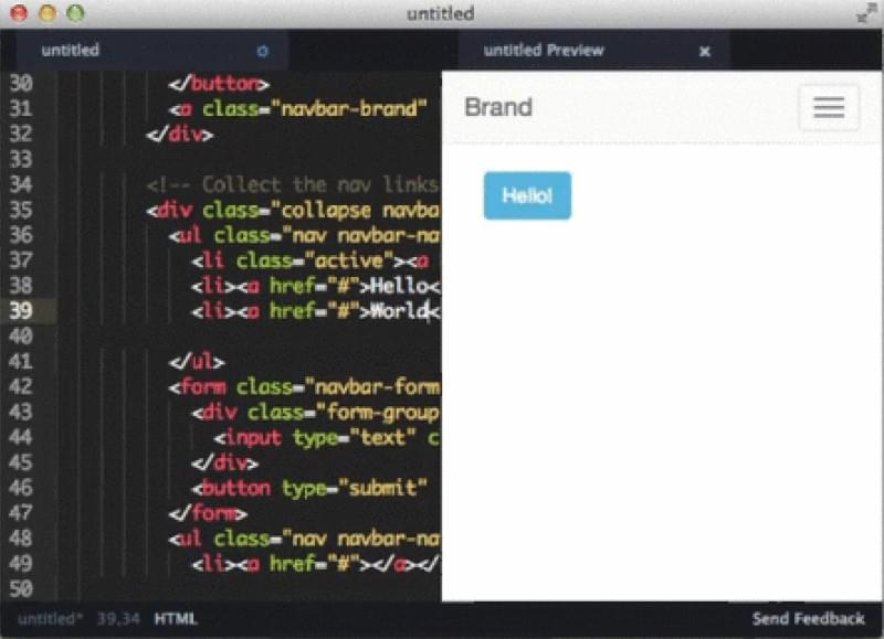 Bootstrap 3 Support for Atom