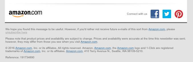 Amazon-unsubscribe