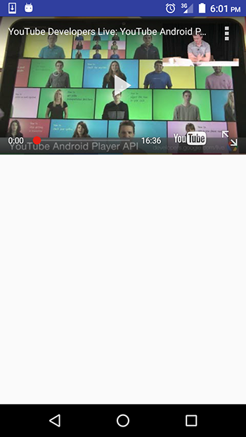Using the YouTube API to Embed Video in an Android App — SitePoint