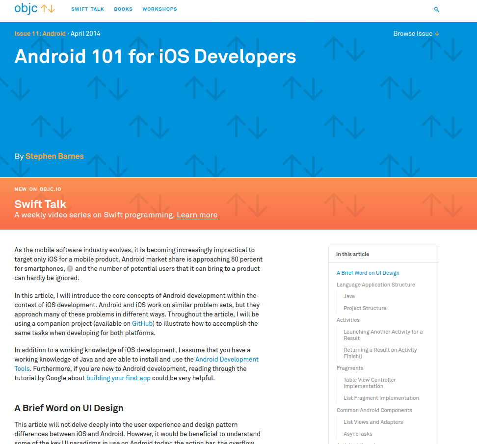 08 - Android for iOS Developers