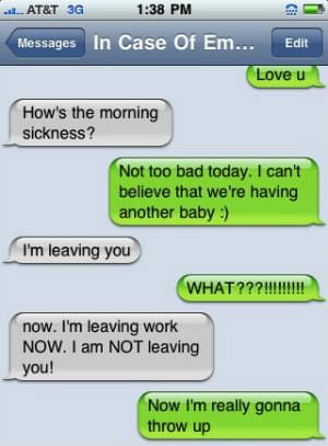 SMS message fails