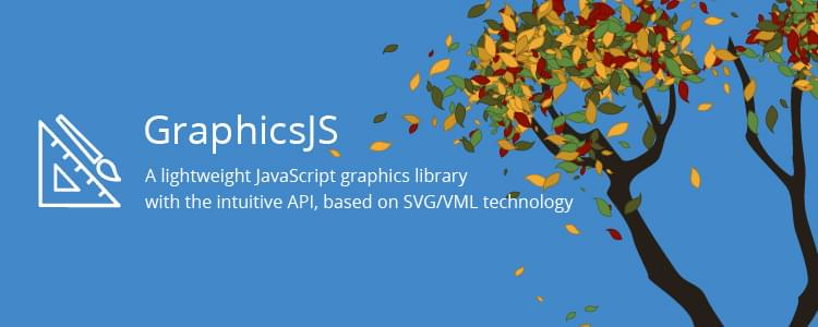 GraphicsJS, a lightweight and powerful SVG-based JavaScript drawing library by AnyChart