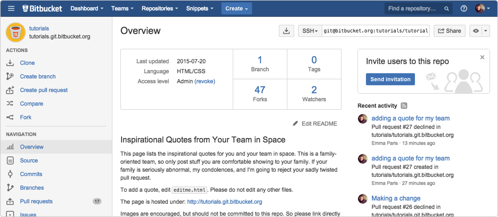 Learn About Code Review in Bitbucket Cloud — SitePoint