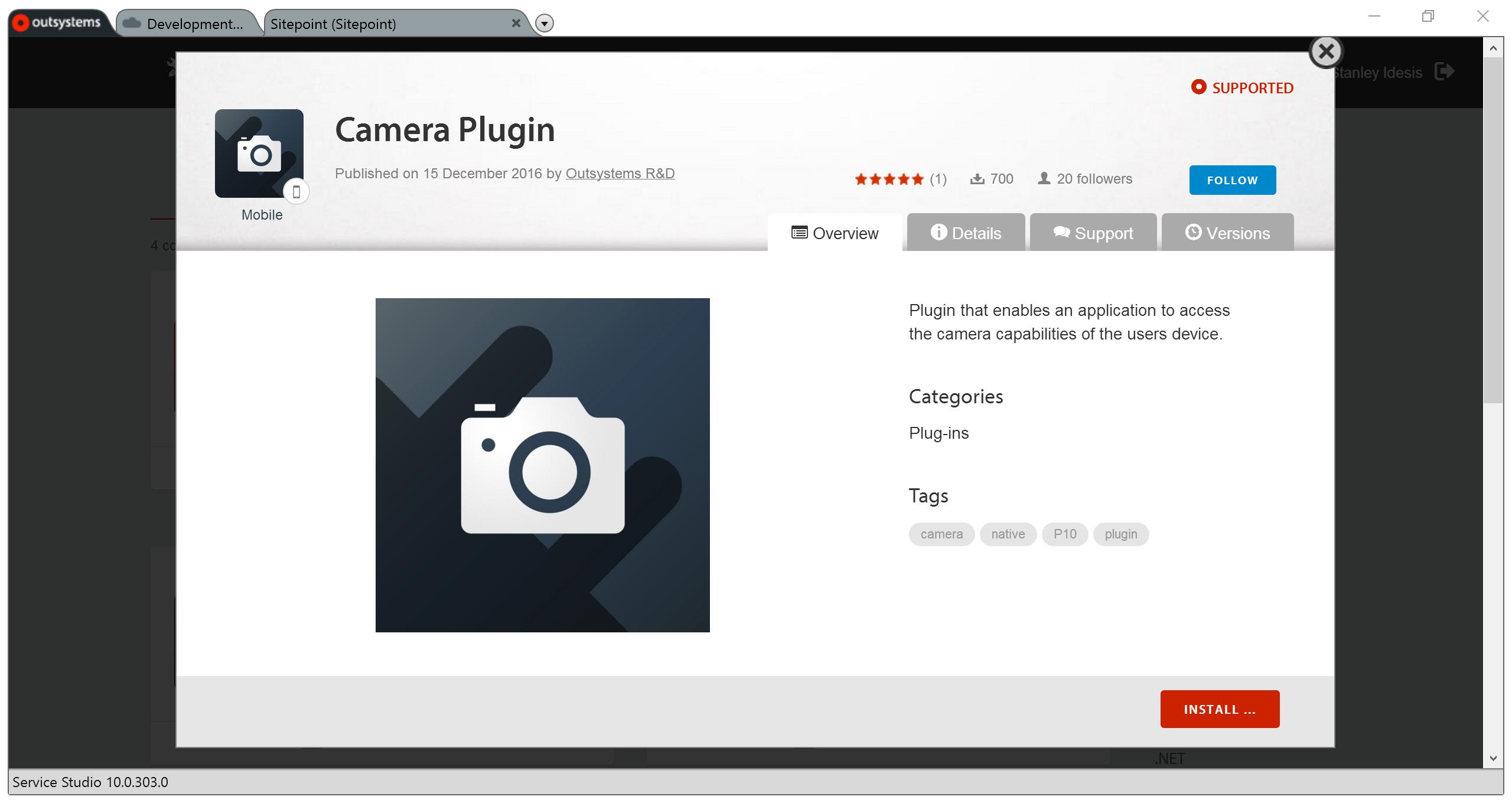 Camera Plugin