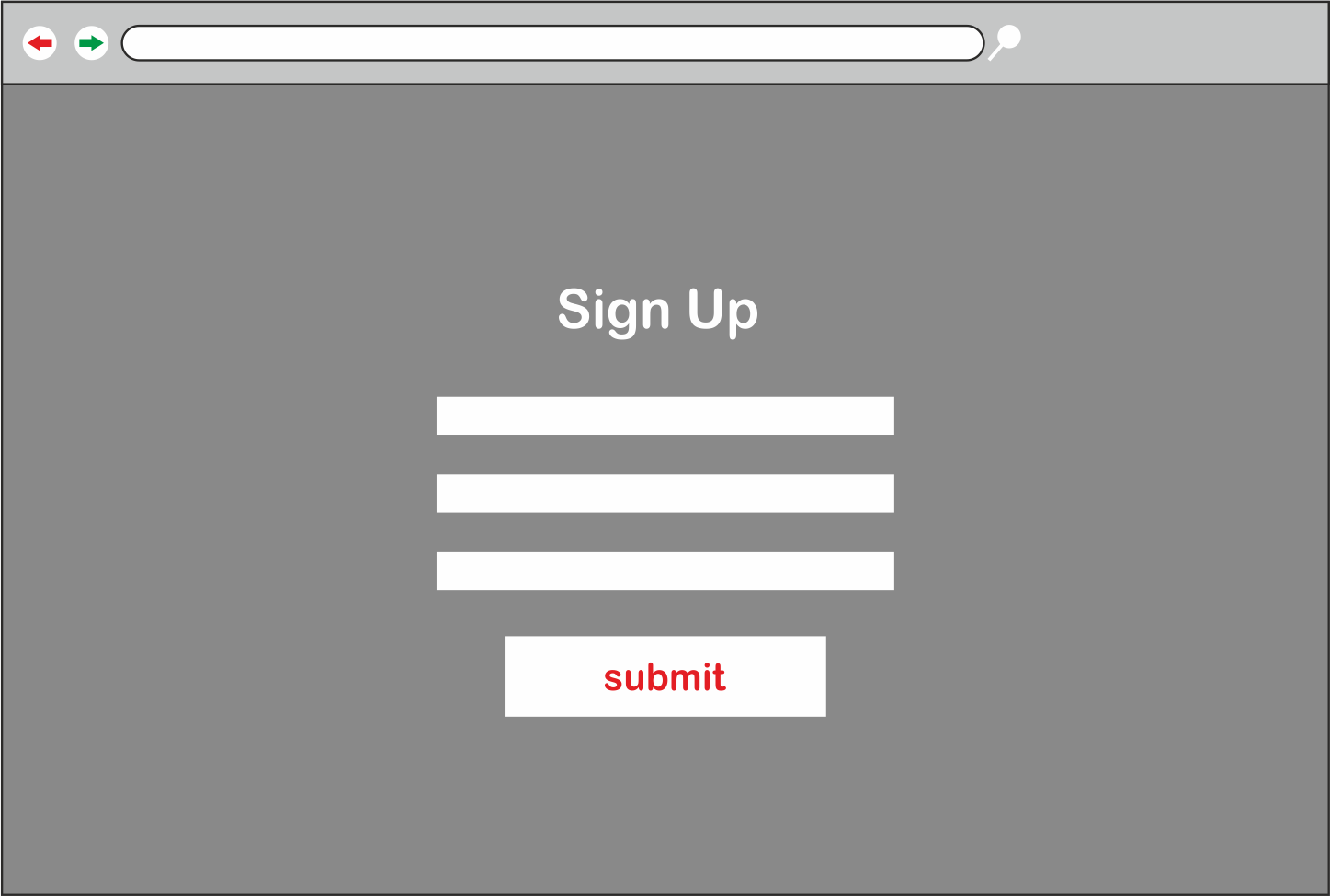 Signup - larger