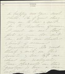 Handwritten letter.