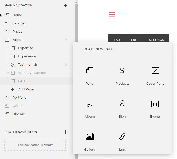 Create a portfolio blog