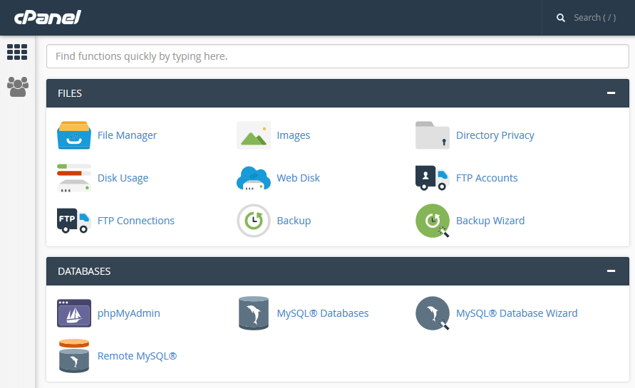 How to Create WordPress MySQL Databases on cPanel — SitePoint