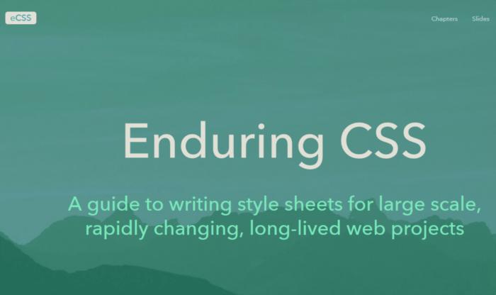 Enduring CSS or eCSS methodology.