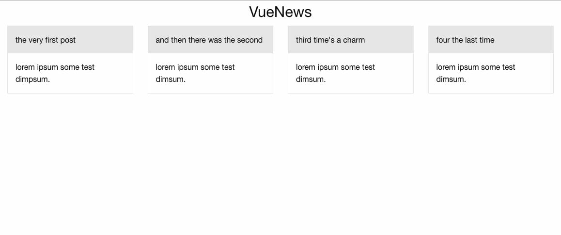 Fetching Data from a Third-party API with Vue js and Axios