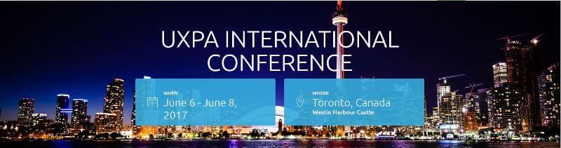 UXPA 2017 International Conference