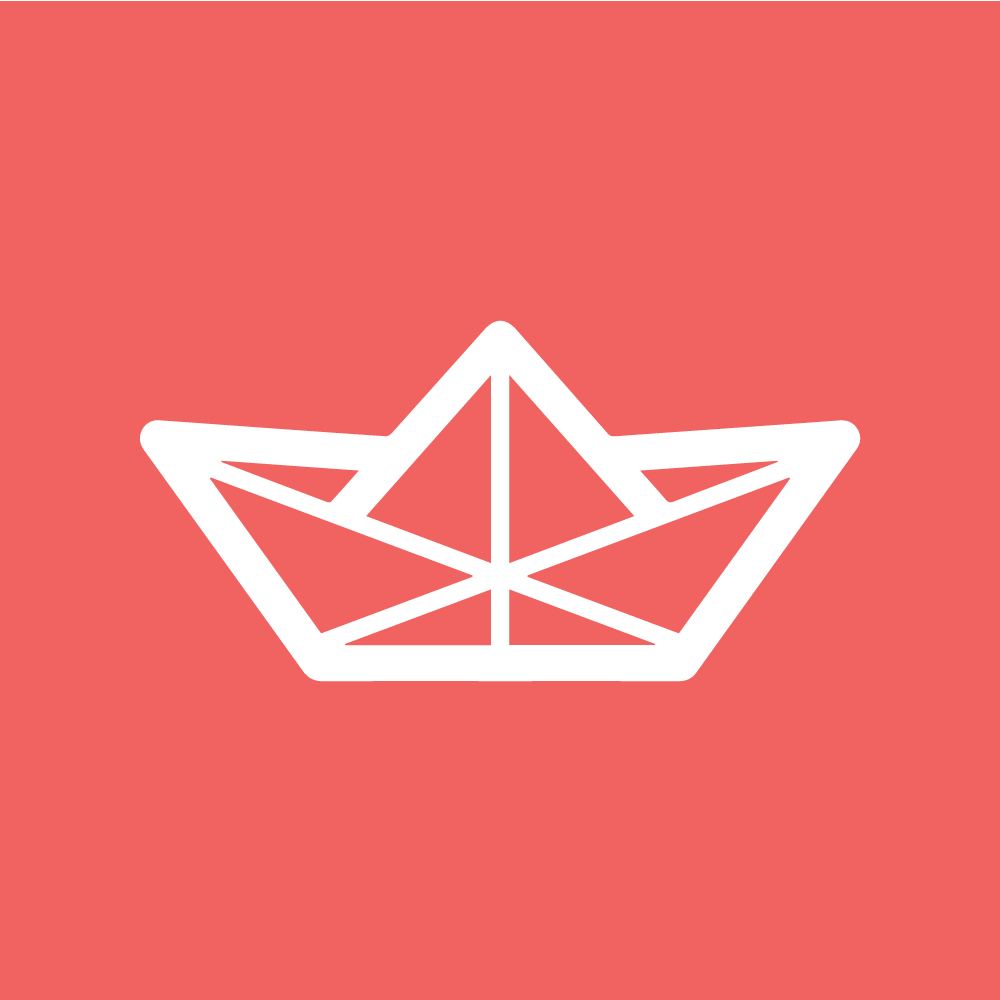 Stream.io logo with Laravel colors