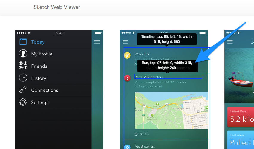 AnimaApp Sketch 43 Web Viewer