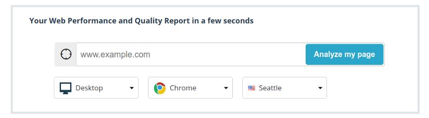 Set up a report
