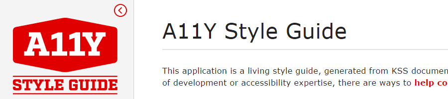 A11y Style Guide