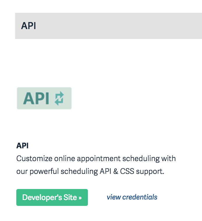 Acuity API