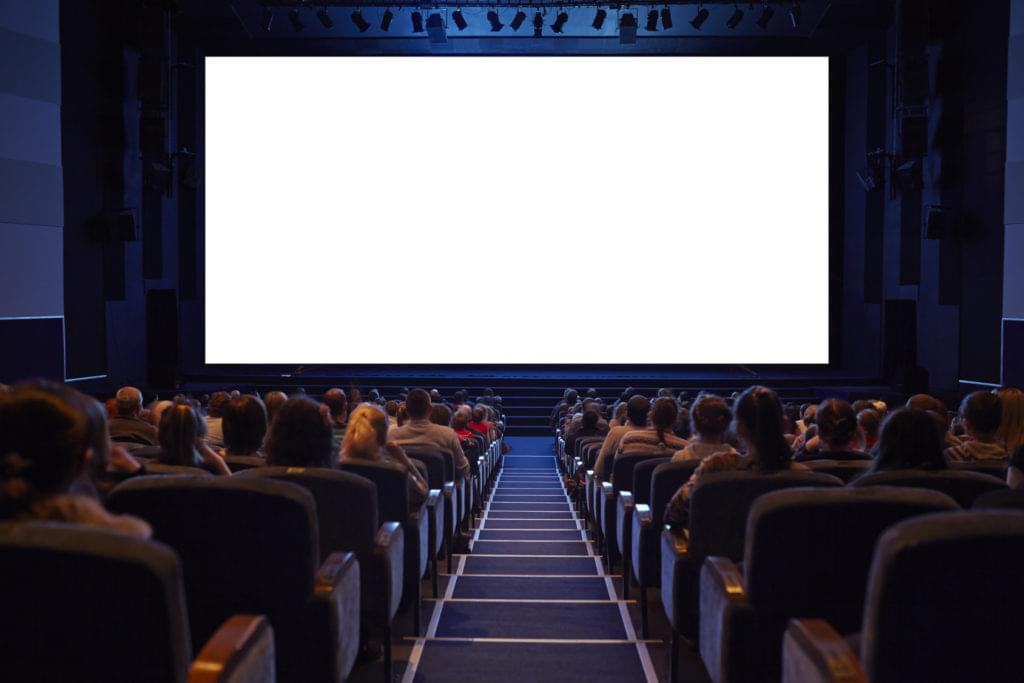 Office party in a theater?