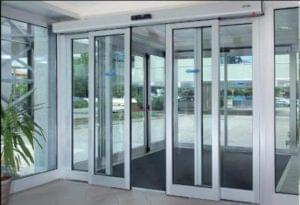 Automatic sliding doors, an invisible UI solution