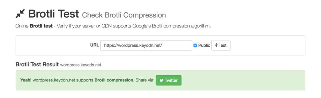 Measuring the Effects of Brotli Compression on WordPress