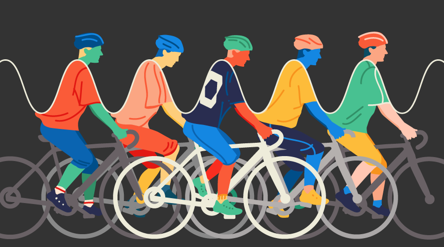 Why I'm switching to Cycle.js - cyclists on bicycles