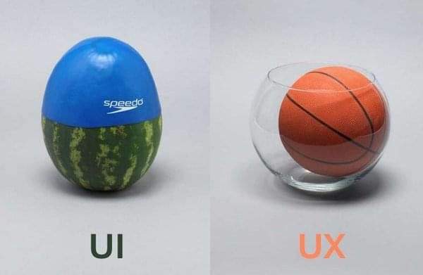 Nonsensical UI vs UX explanation.