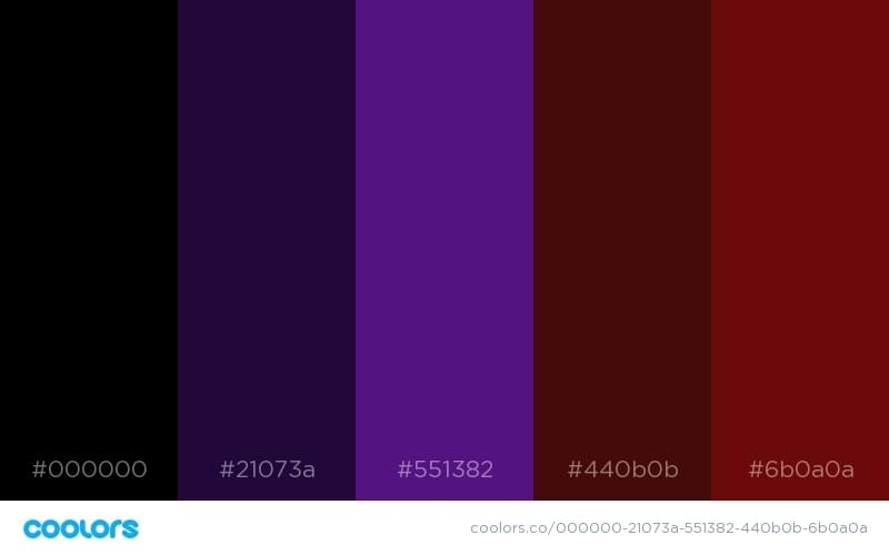 15 Color Schemes From Disney Heroes And Villains Sitepoint