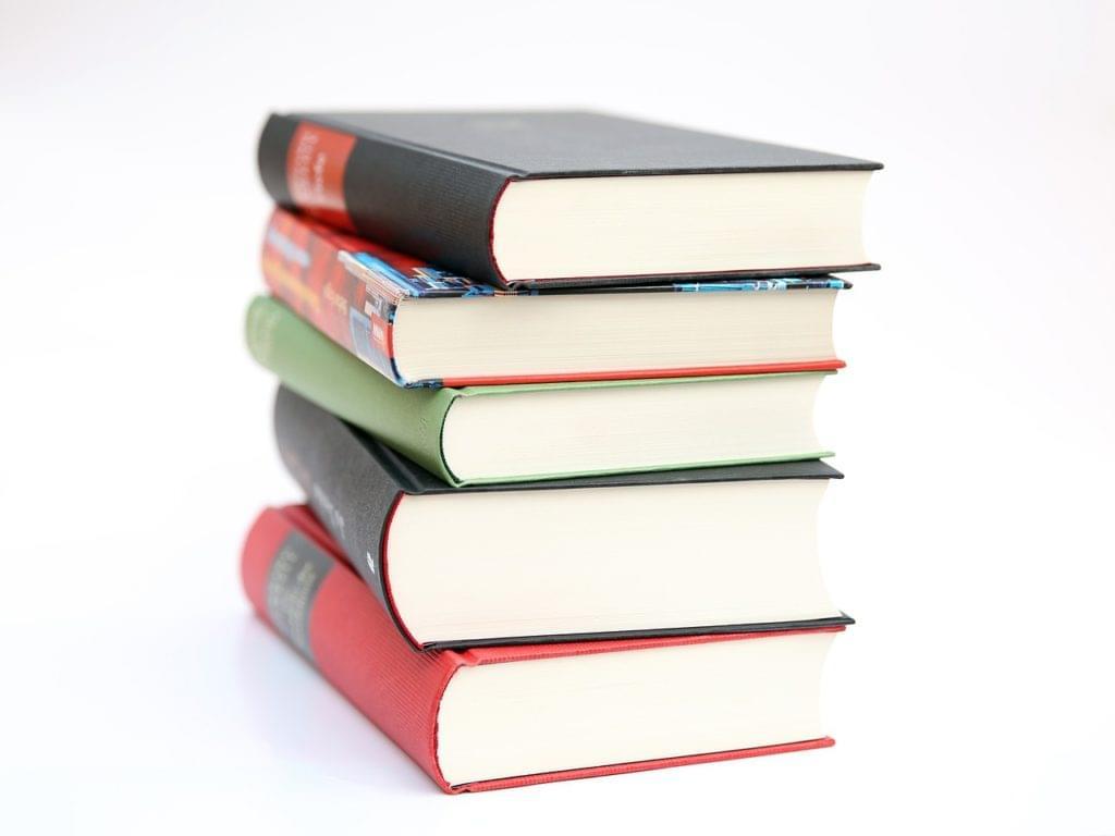 Pile of books - learning JavaScript
