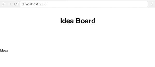 Skeleton Idea board app