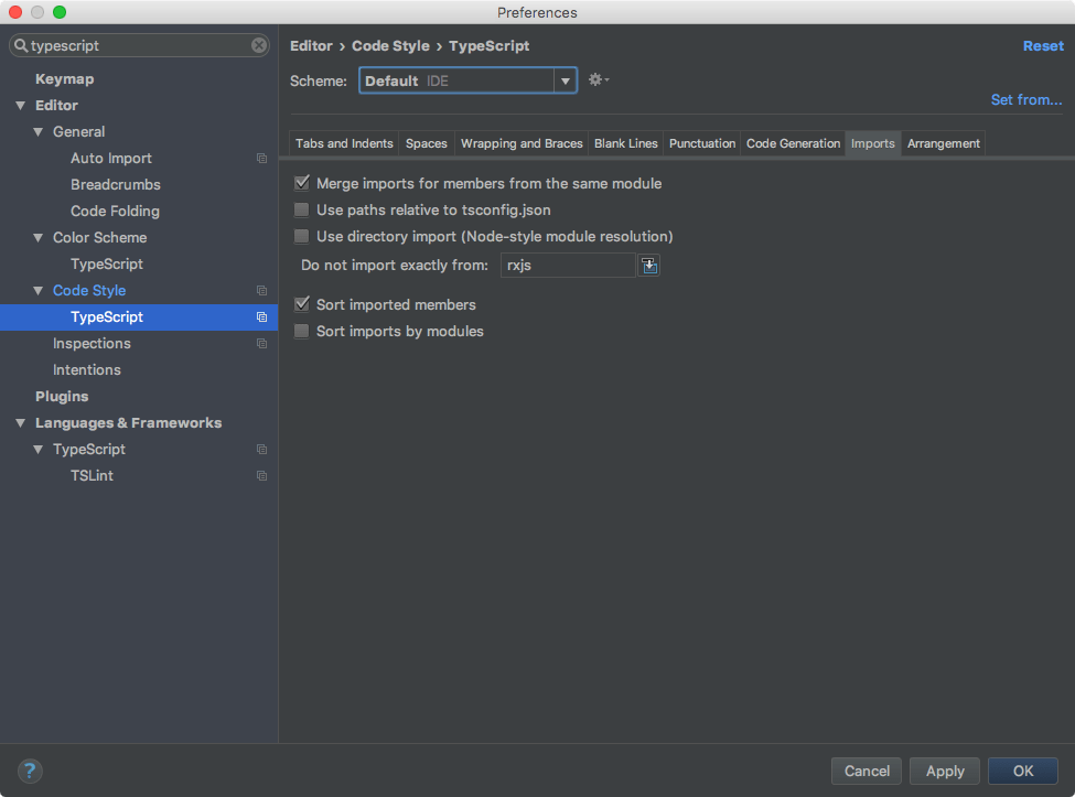 WebStorm and Angular: Import Path Calculation