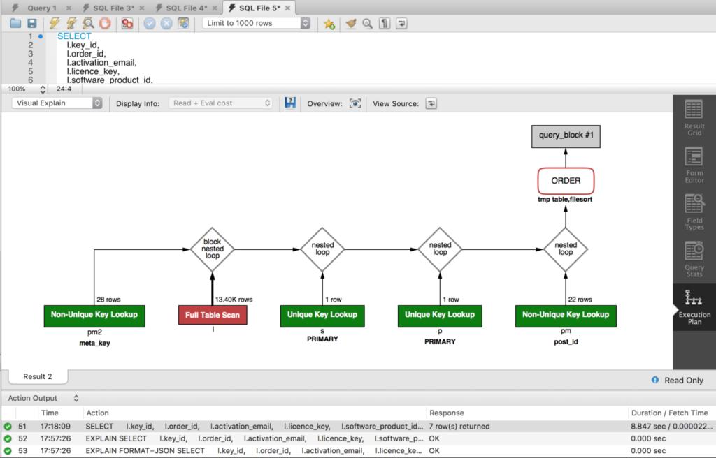 如何为更快的站点优化SQL查询