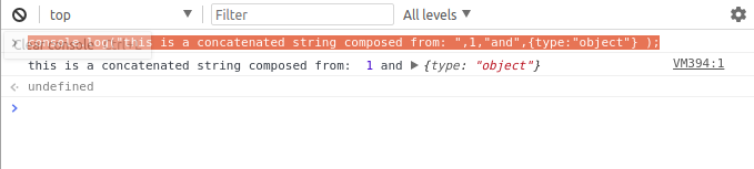 passing strings  - 1511918826passing strings - A Deep Dive into Chrome's Dev Console — SitePoint