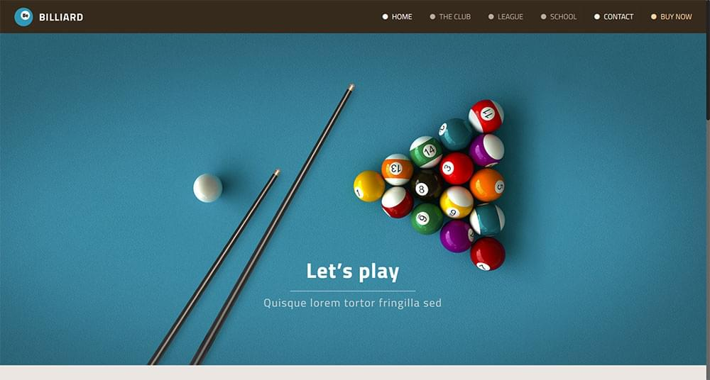 Be Theme - Billiard