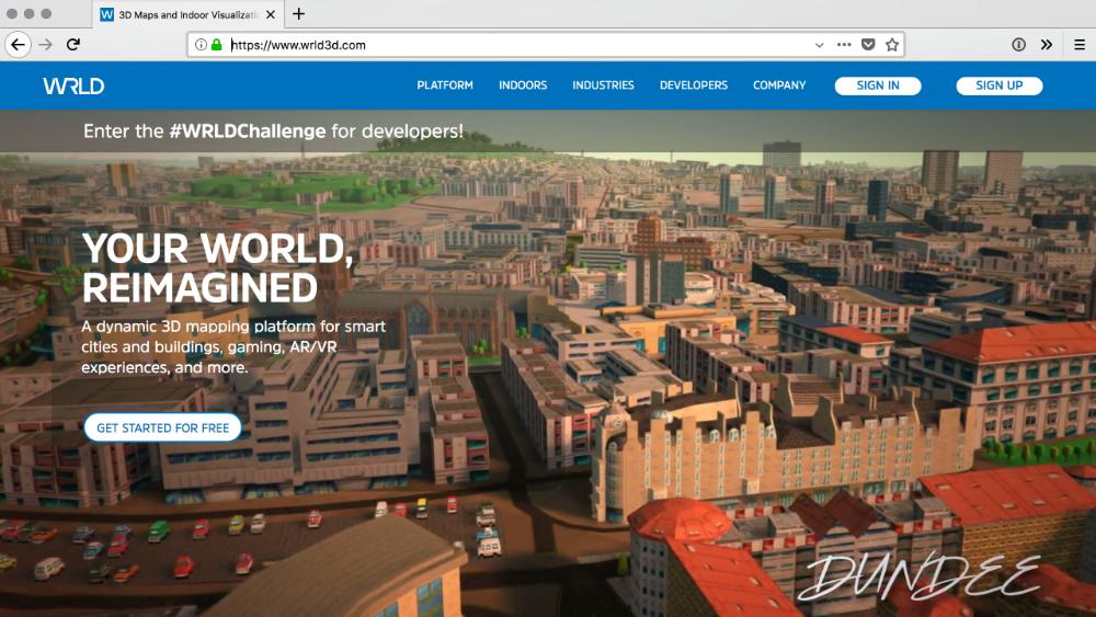WRLD home page